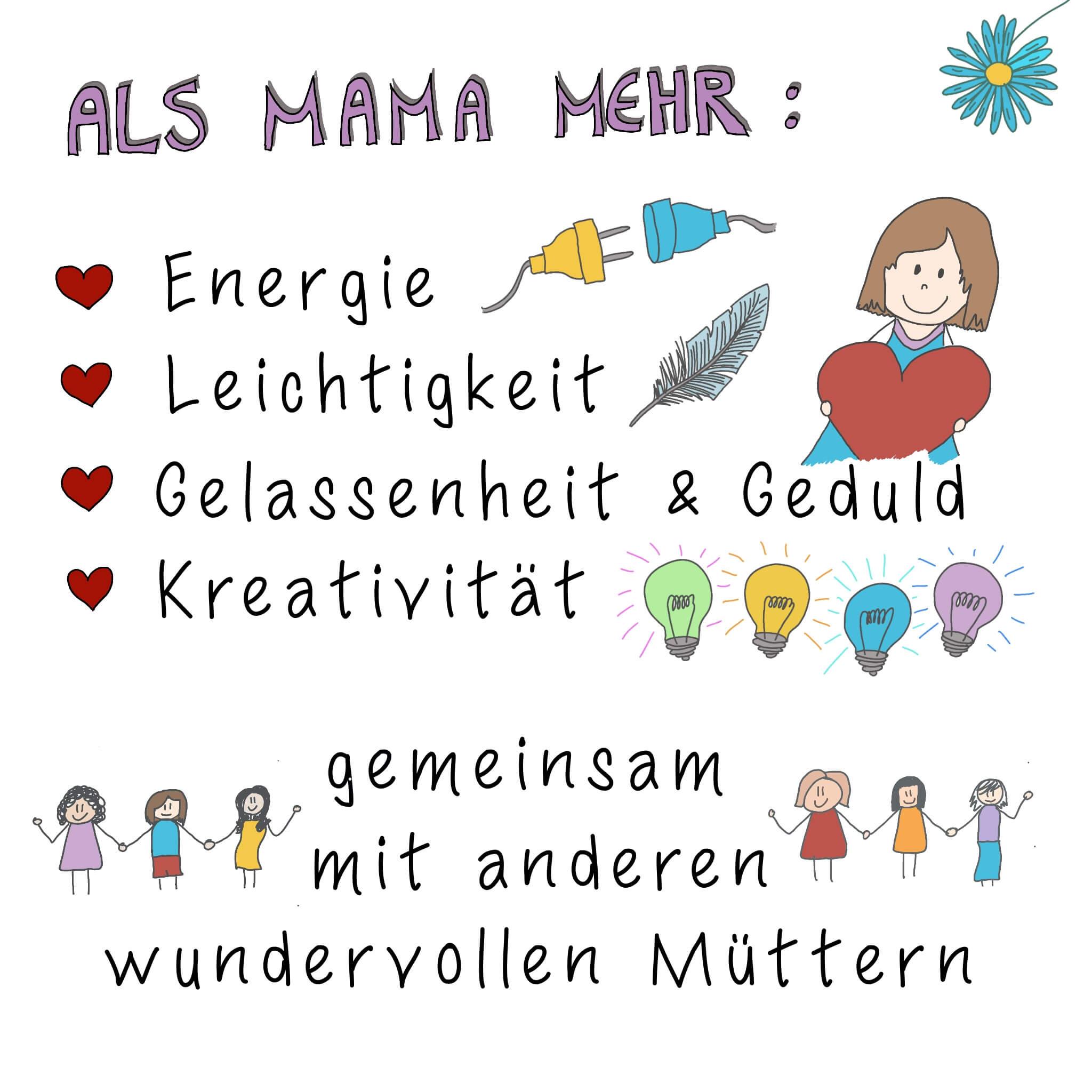 Als Mama bei der Mamaleicht Community